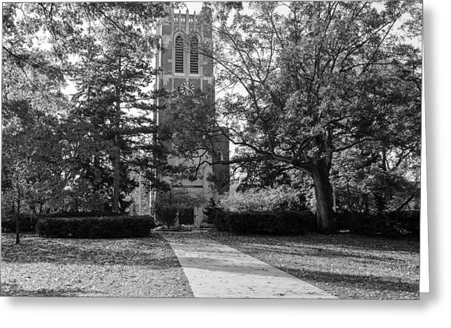 Greeting Card featuring the photograph Beaumont Tower by Larry Carr