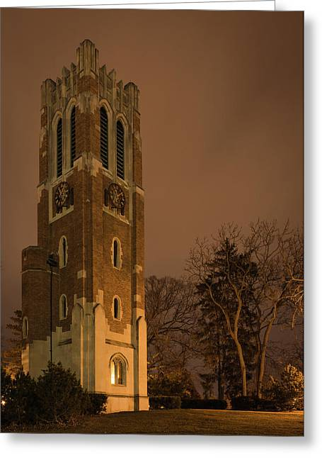 Beaumont Tower Greeting Card