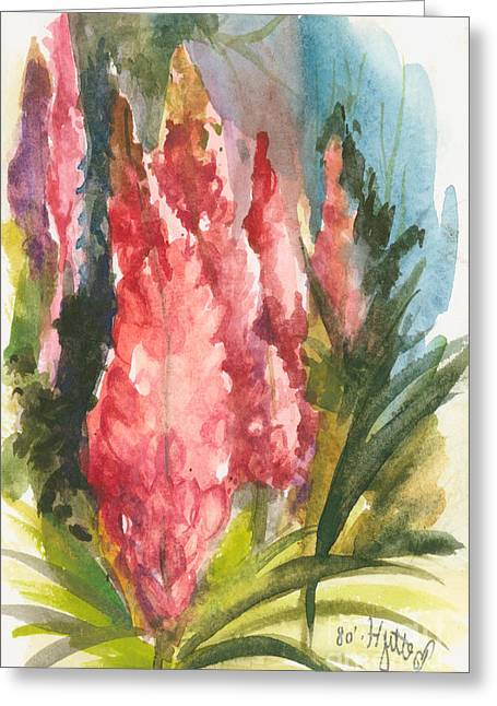 Elisabeta Hermann Greeting Cards - Beauties - Note Card Greeting Card by Elisabeta Hermann