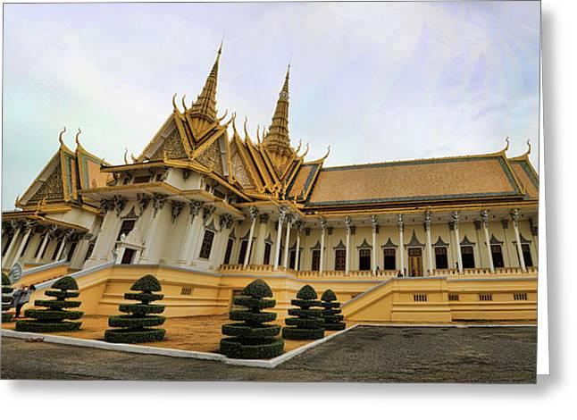 Beautiful Architecture Royal Palace  Greeting Card