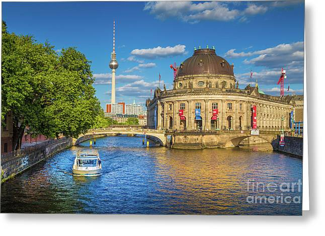 Beautiful Berlin Greeting Card by JR Photography