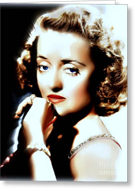 Beautiful Bette Greeting Card