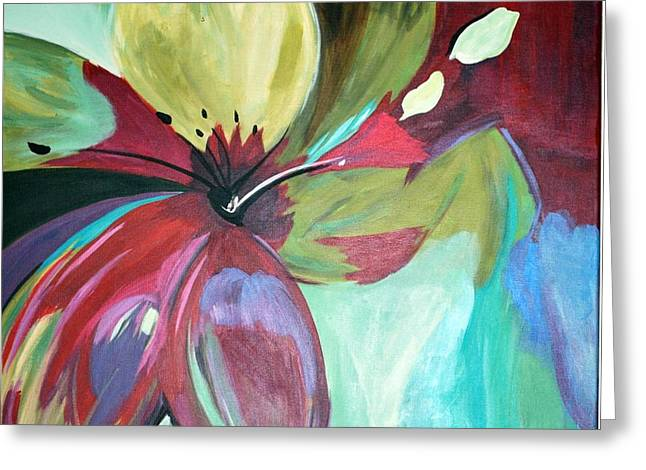 Beautiful Bloom Greeting Card by Heather  Hamrick
