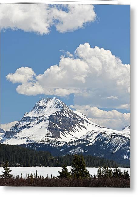 Beautiful Bow Lake Greeting Card