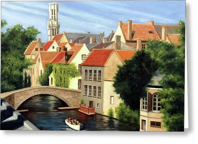 Beautiful Bruges Greeting Card