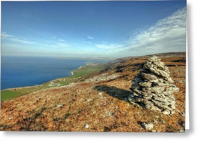 Beautiful Burren View Greeting Card by John Quinn