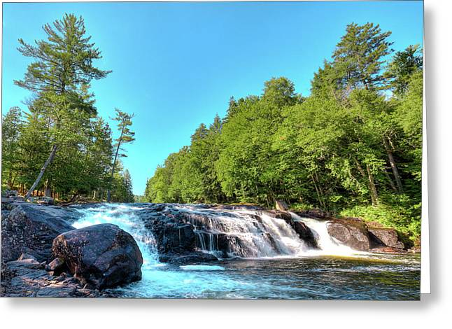 Beautiful Buttermilk Falls Greeting Card by David Patterson