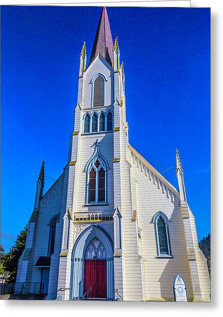 Beautiful Church Of The Assumption Greeting Card by Garry Gay