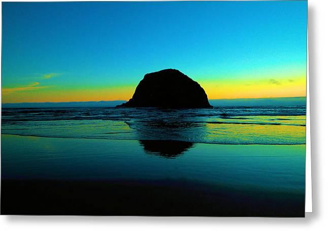 Beautiful Coastline Greeting Card by Jeff Swan
