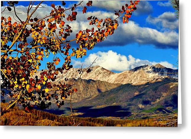 Beautiful Colorado Greeting Card by Ellen Heaverlo