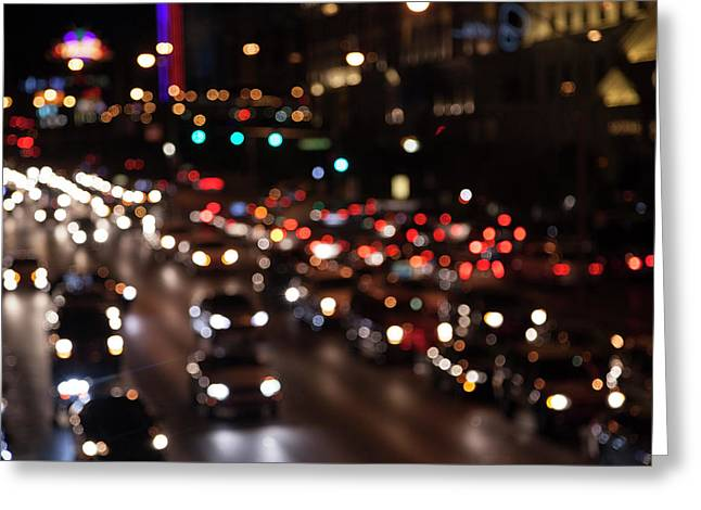 Beautiful Congestion Greeting Card