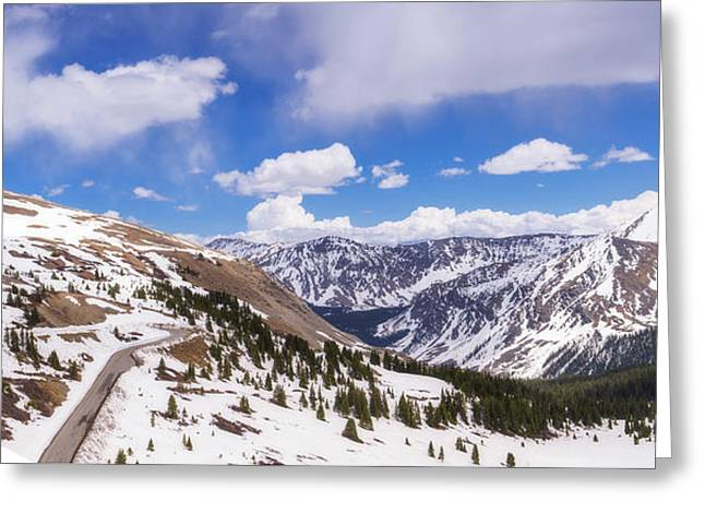 Greeting Card featuring the photograph Beautiful Cottonwood Pass by Tim Reaves