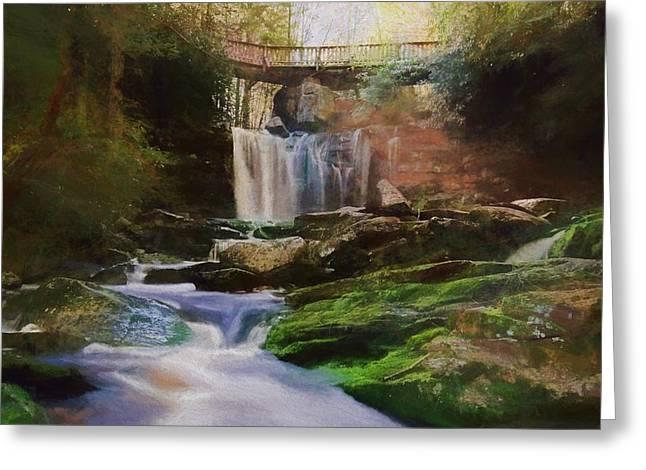 Beautiful Elakala Falls Greeting Card
