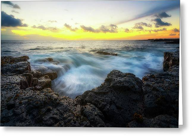 Greeting Card featuring the photograph Beautiful Ending by Ryan Manuel