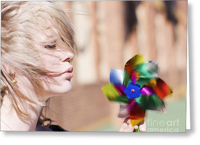 Beautiful Energy Greeting Card by Jorgo Photography - Wall Art Gallery