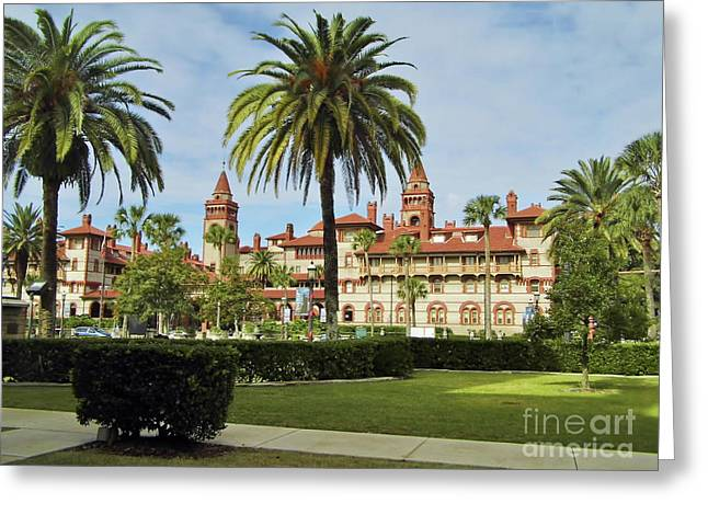 Beautiful Flagler College Greeting Card