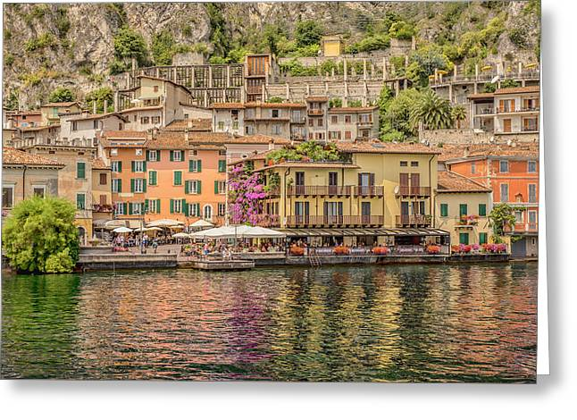 Beautiful Italy Greeting Card by Roy McPeak