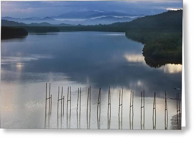 Greeting Card featuring the photograph Beautiful Landscape by Ng Hock How
