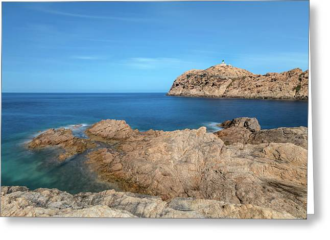 Beautiful L'ile Rousse - Corsica Greeting Card