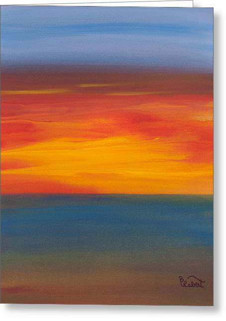 Beautiful Morning Greeting Card by Bonnie Rabert