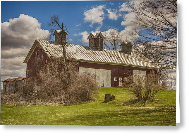 Beautiful Old Barn Greeting Card by JRP Photography