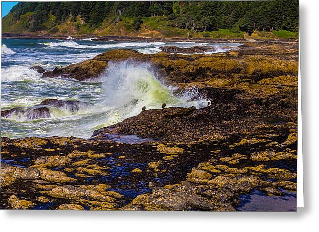 Beautiful Oregon Coast Greeting Card