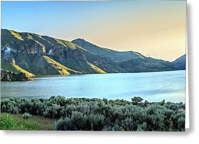 Beautiful Owyhee Reservoir Greeting Card by Robert Bales