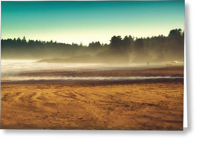 Beautiful Pacific Morning  Greeting Card by Naman Imagery