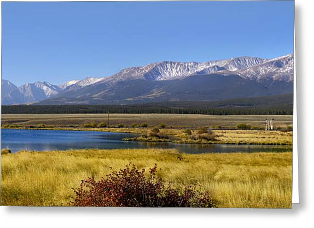 Beautiful Panoramic Landscapes Greeting Card by Boon Mee