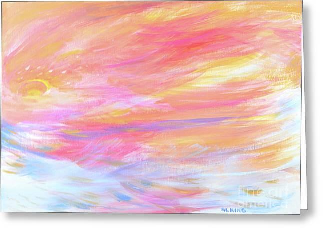 Beautiful Possibilities - Contemporary Art Greeting Card