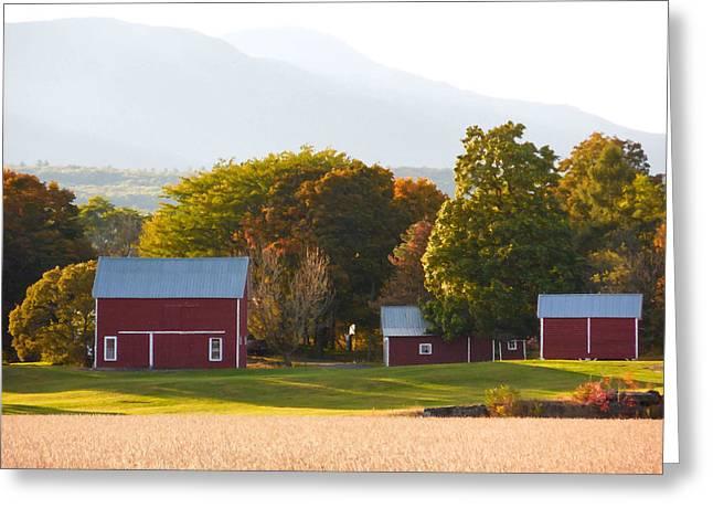 Beautiful Red Barn 3 Greeting Card