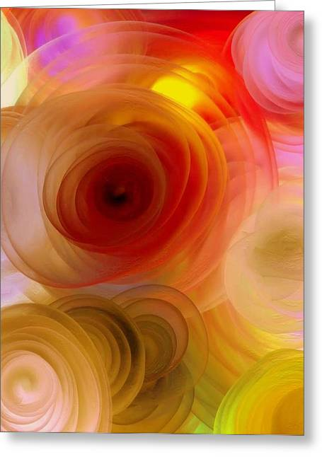 Beautiful  Roses Greeting Card by Janpen Sherwood