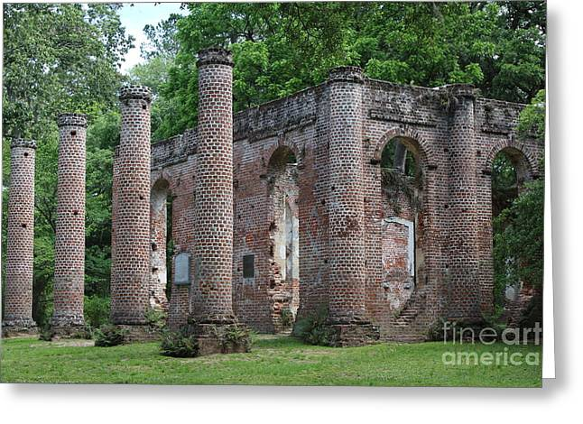 Beautiful Ruins Greeting Card