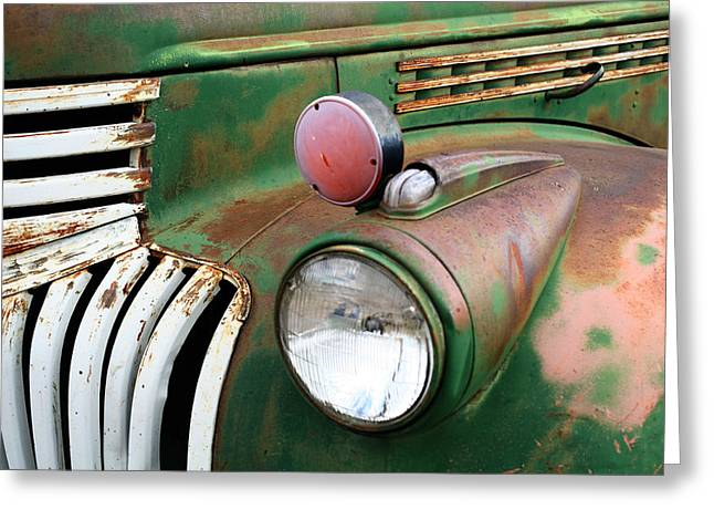 Beautiful Rust Greeting Card by Tammy Hankins