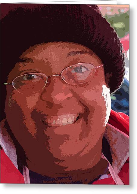Beautiful Smile Greeting Card by David Bearden