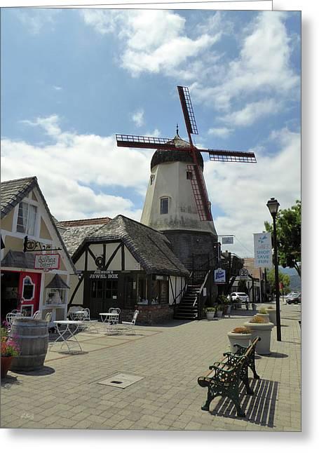 Beautiful Solvang, California Greeting Card by Gordon Beck