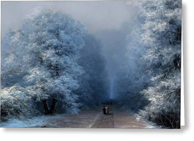 Beautiful Sound Of Silence Greeting Card by Georgiana Romanovna