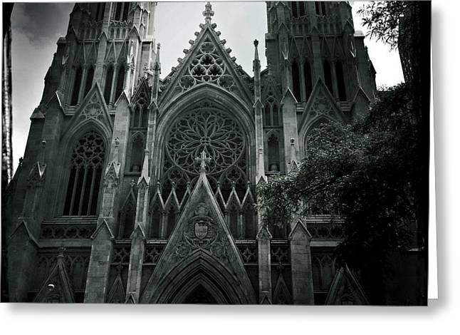 Beautiful St Patricks Cathedral Greeting Card
