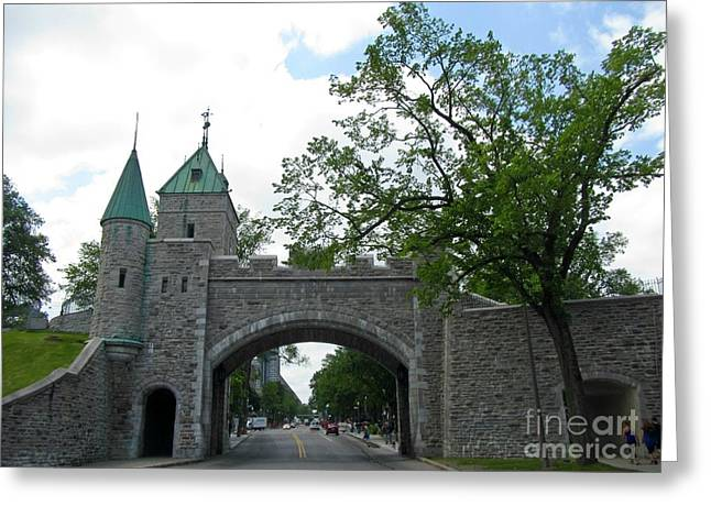 Beautiful Stone Gateway Greeting Card by John Malone