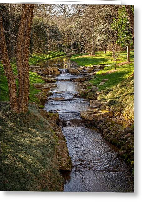 Beautiful Stream Greeting Card