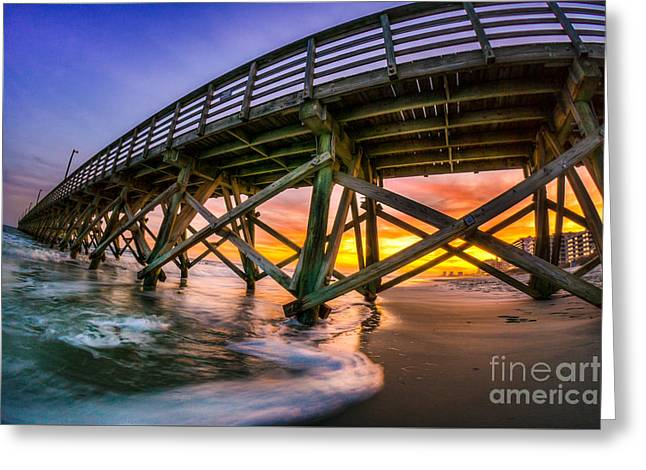 Beautiful Sunset In Myrtle Beach Greeting Card