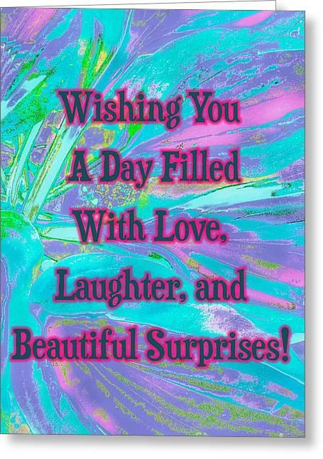 Beautiful Surprises Greeting Card