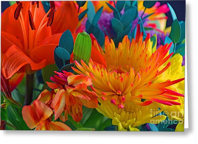 Beautiful To The Eyes  Greeting Card by Ray Shrewsberry