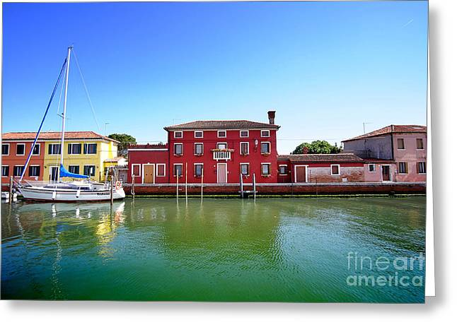Beautiful Torcello Greeting Card by Floyd Menezes
