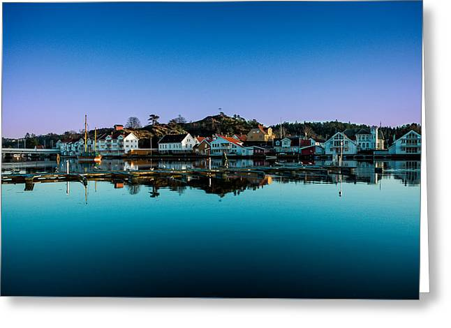 Beautiful Town Greeting Card by Mirra Photography