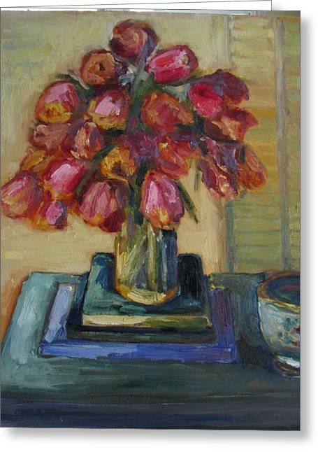 Beautiful Tulips Greeting Card