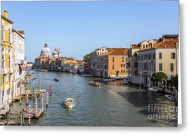 Beautiful Venice  Greeting Card by Svetlana Sewell