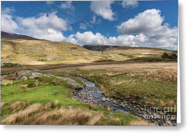 Beautiful Welsh Landscape Greeting Card