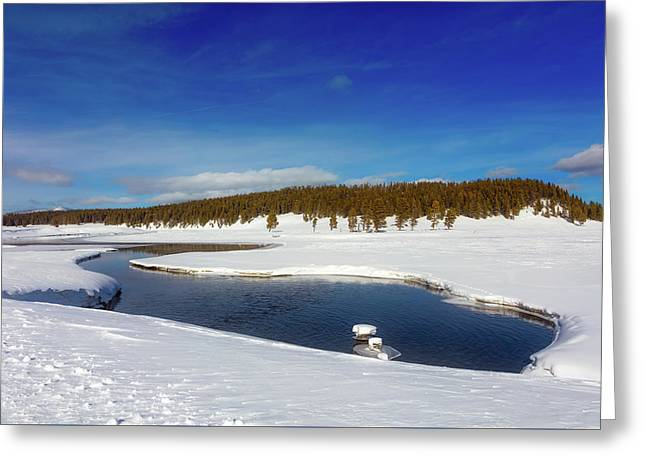 Beautiful Yellowstone River Greeting Card by L O C