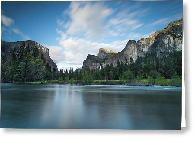 Beautiful Yosemite Greeting Card